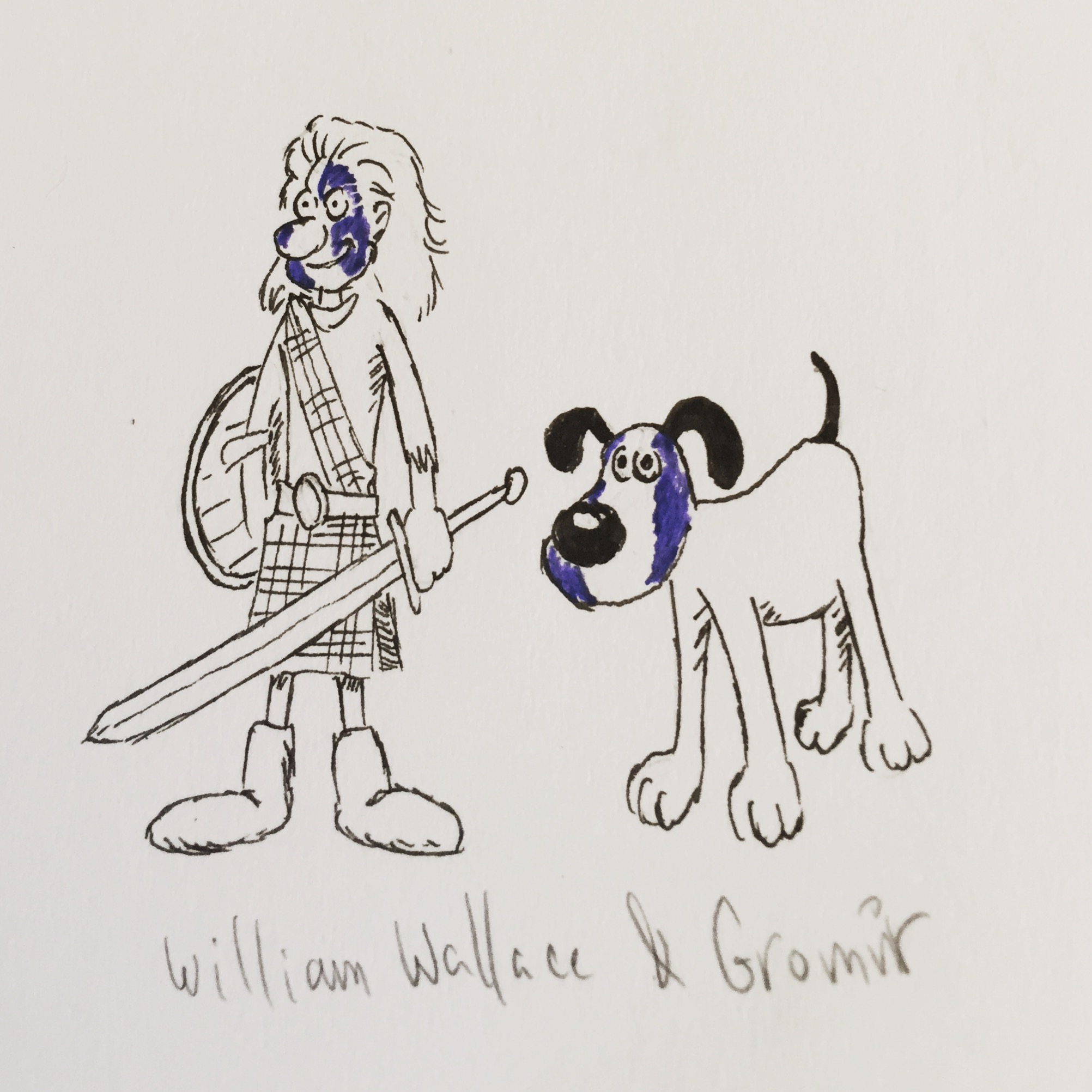 William Wallace & Gromit
